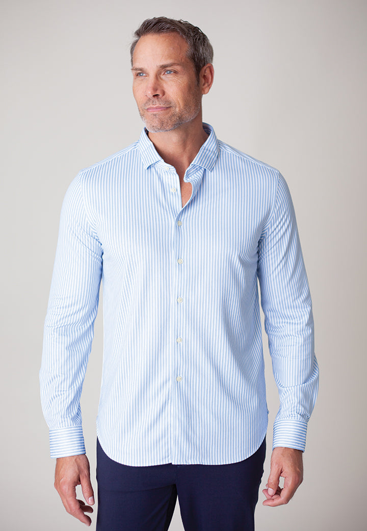 Buki's Leo Stripe Shirt | Mens Clothing | Mens Button Down Shirt | Free Shipping
