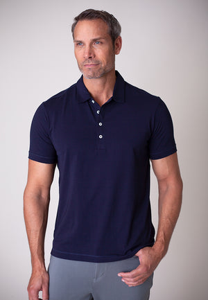 Buki Men's Coolest Polo | 2-layer construction designed to keep you dry and comfortable | Perfect for off-duty wear or a night on the town | Mens Clothing | Mens Polo | Free Shipping