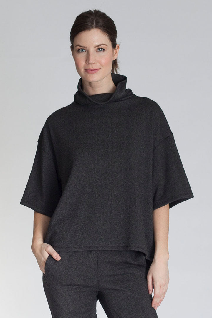 Buki's Perfect Pullover | Highly covetable and cozy funnel-neck sweater, perfect for lounging or for adventure. This machine washable and wrinkle resistant pullover is designed with your comfort and lifestyle in mind | Women's Clothing | Women's Pullover | Free Shipping
