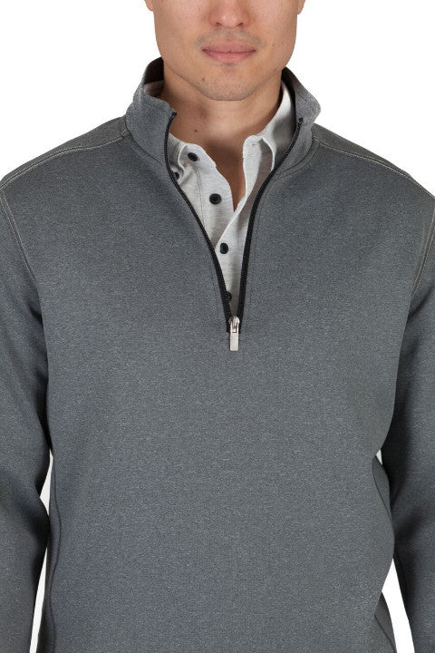 Mens Quarter Zip Pullover in Mens Clothing | Buki Brand | Free Shipping
