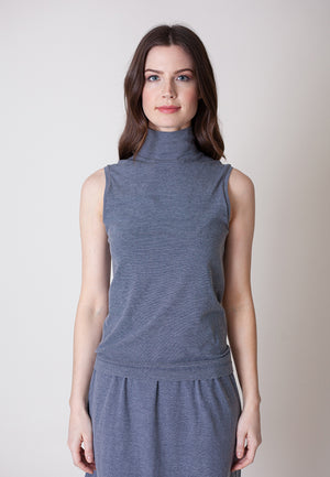 Buki's Sunday Seamless | Women's Clothing | Women's Sleeveless Turtleneck | Free Shipping