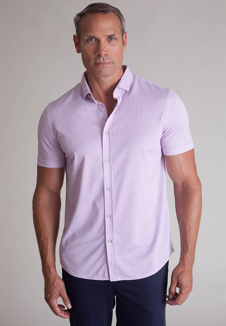 Buki's Legend Shirt for men: Streamlined design with live-in-it comfort. Made with technical fabric to keep you dry and comfortable.