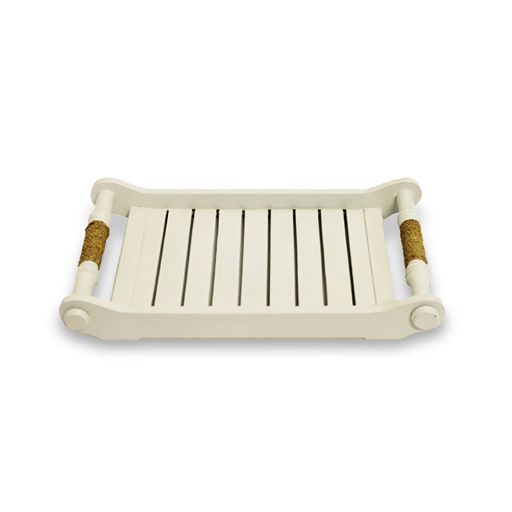 Colonial Tray - White