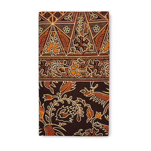 Brown and Orange Sarong