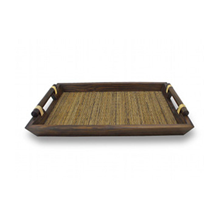 2 Wooden Tea Trays