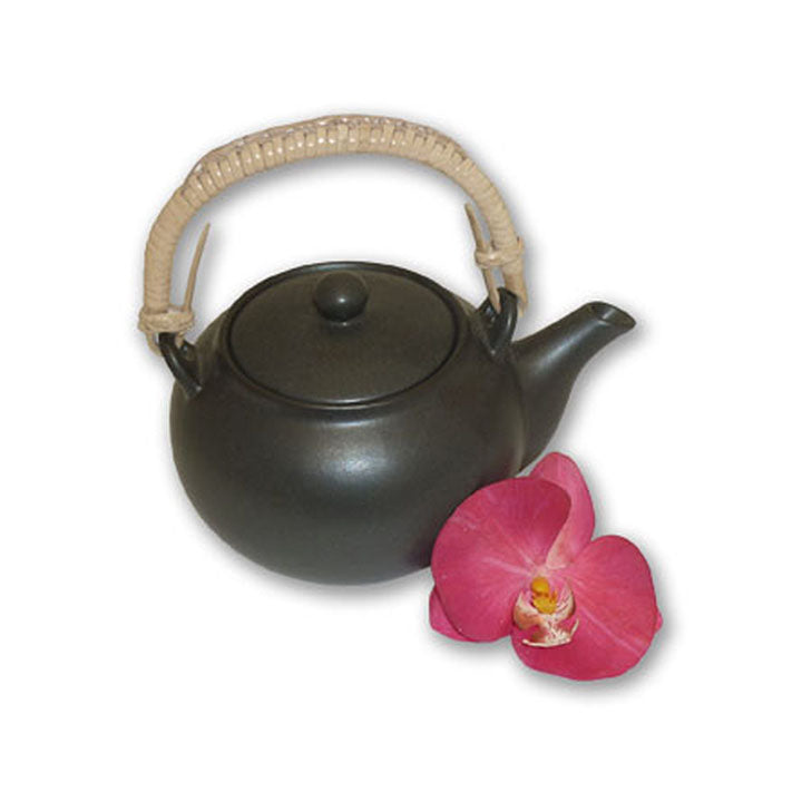 Black Teapot Set