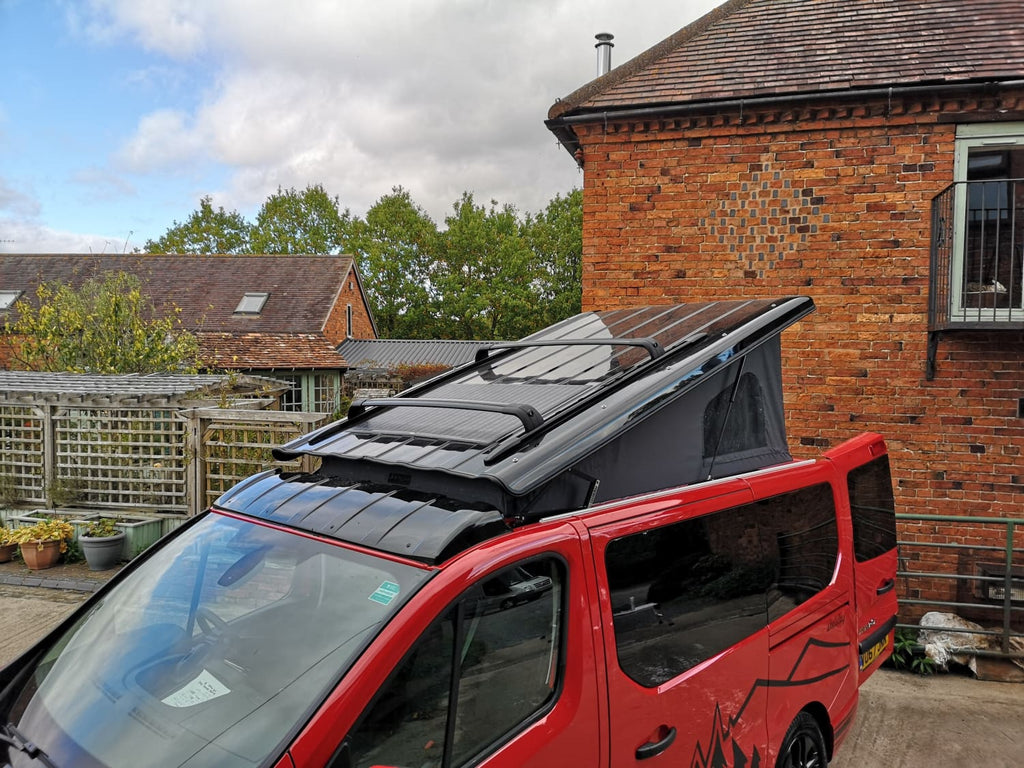 Why have a rear elevating pop top roofs at CCCAMPERS.....