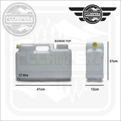 12 Litre Water Container - CCCAMPERS