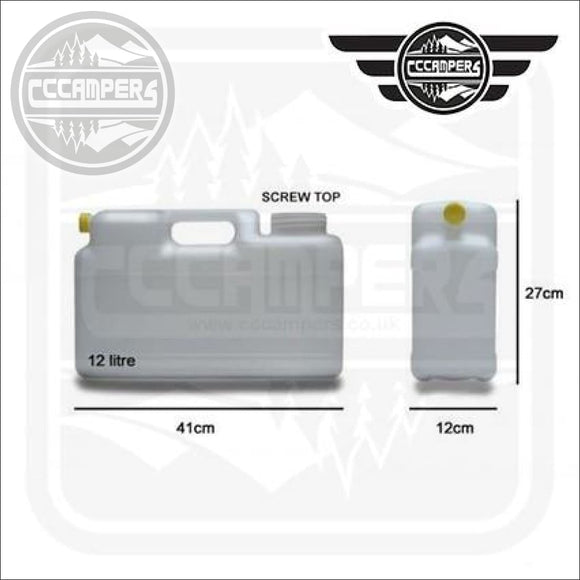 12 Litre Water Container - cccampers.myshopify.com