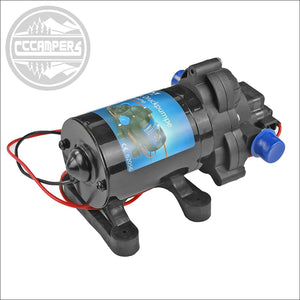 12V pressure water pump with a switch-off pressure of 1,4 bar - CCCAMPERS