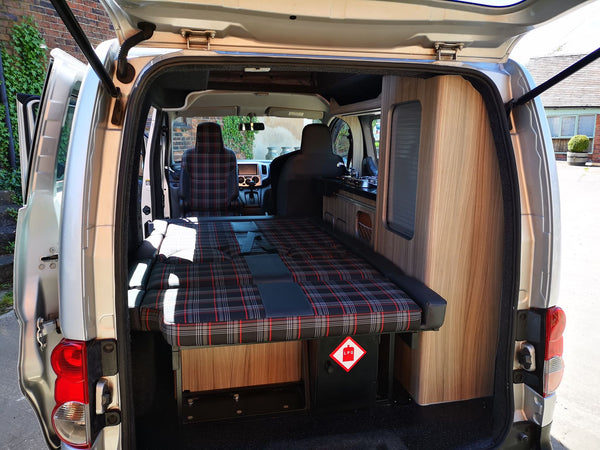 Let us make you one like this - Nissan NV200 Clee Camper Car Petrol Automatic by CCCampers