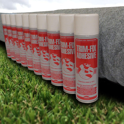 4 Way Stretch Van Lining Carpet 10m Bundle with 10 Cans of Trimfix Glue