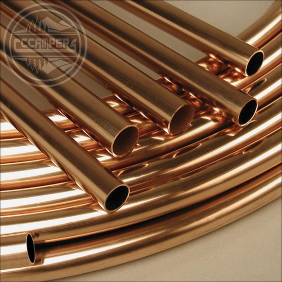 8mm diameter copper pipe per metre - Gas Components