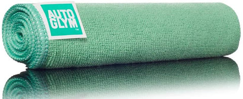 Autoglym Hi-Tech Green Loose weave Interior Microfibre Cloth - cccampers.myshopify.com