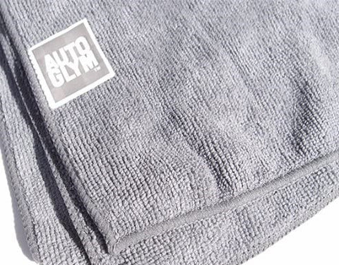 Autoglym Hi-Tech Grey tight weave exterior Microfibre Cloth - CCCAMPERS