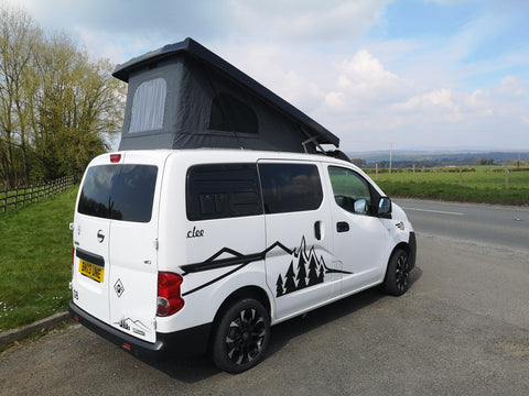 2013 CCCampers 'Clee' Nissan Campervan with 55,434 miles