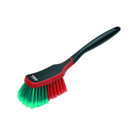 Vikan Multi Purpose Cleaning Brush Soft Red Green