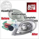 Autoglym Headlight Restoration Complete Kit - CCCAMPERS
