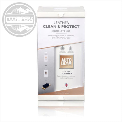 Autoglym Leather Clean & Protect Complete Kit - CCCAMPERS