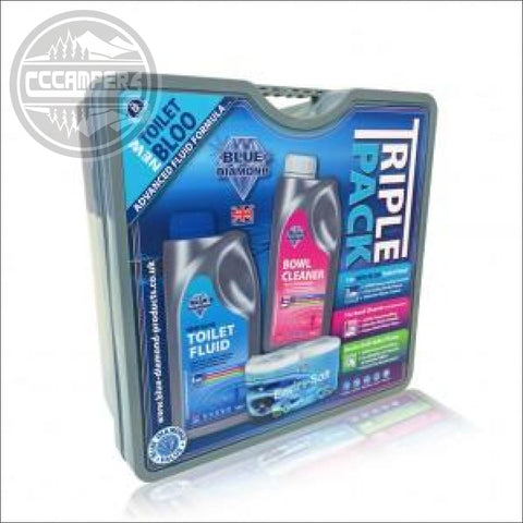 Blue Diamonds high-quality New Bloo Triple Pack - SANITATION