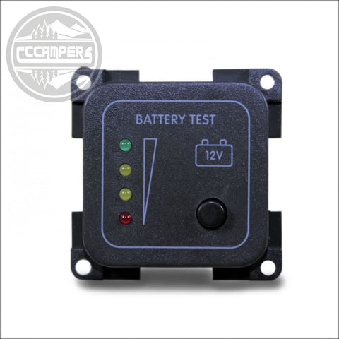 CBE 12v Battery Tester LED - CCCAMPERS