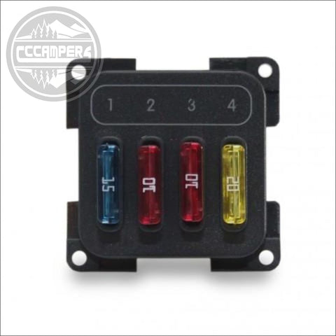 CBE 12v Electrical 4 Fuse Box Module - 12V and 240V Components