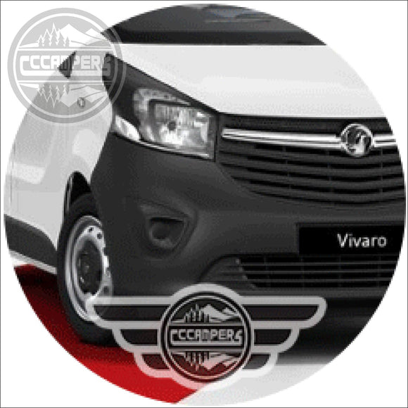 CCCAMPERS - Colour Code Your Pop Up Roof Vauxhall Vivaro 2014 - 2019 - Conversion Upgrades