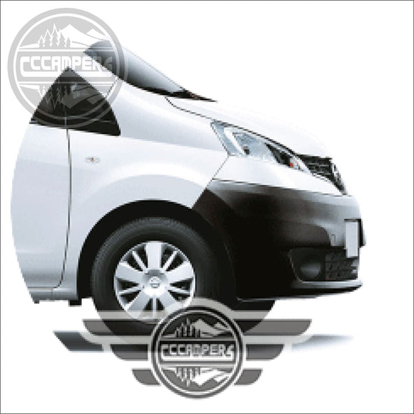 Colour Code Your Pop Up Roof Nissan NV200 2010+ - cccampers.myshopify.com