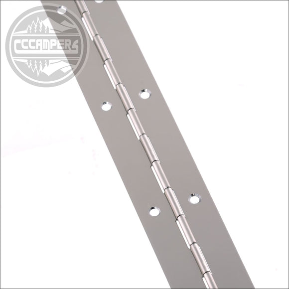 Continuous Rolled Piano Hinge width 32mm x length 900mm - cccampers.myshopify.com