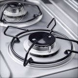 Dometic 9722 Slimline Combination Twin Burner Cooker and Sink with Piezo Ignition System - CCCAMPERS