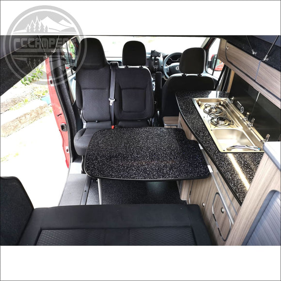 Double Twin Swivel Seat Base fits Trafic NV300 & Talento 2014 on - Double Swivel Seats