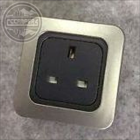 Fit an additional 240v Mains Socket - CCCAMPERS