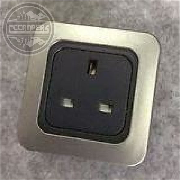Fit an additional 240v Mains Socket - Single - 12v Lighting