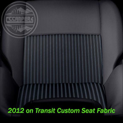 Ford Transit Custom Trend T350 Patterned Fabric - Perfect match to front seats - cccampers.myshopify.com