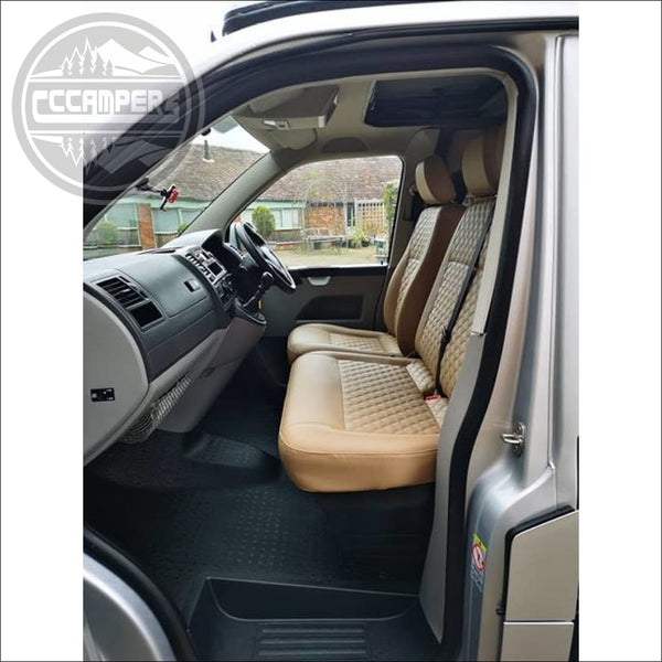 Front Seats Upholstered To Match Rear - Conversion Upgrades