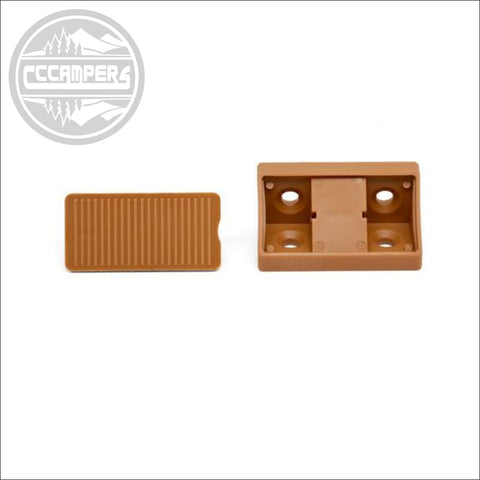 Light Brown Corner Joint with Cover Conectors x 20 pcs - CCCAMPERS
