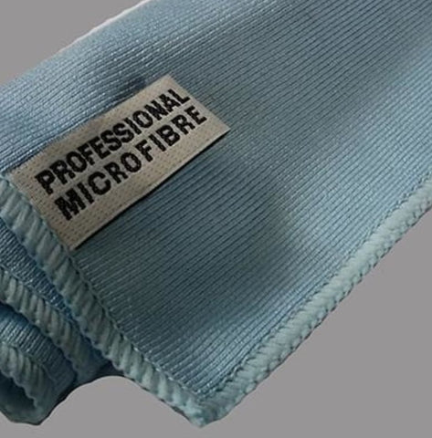 Microfibre very tight weave glass cleaning Professional Cloth - cccampers.myshopify.com