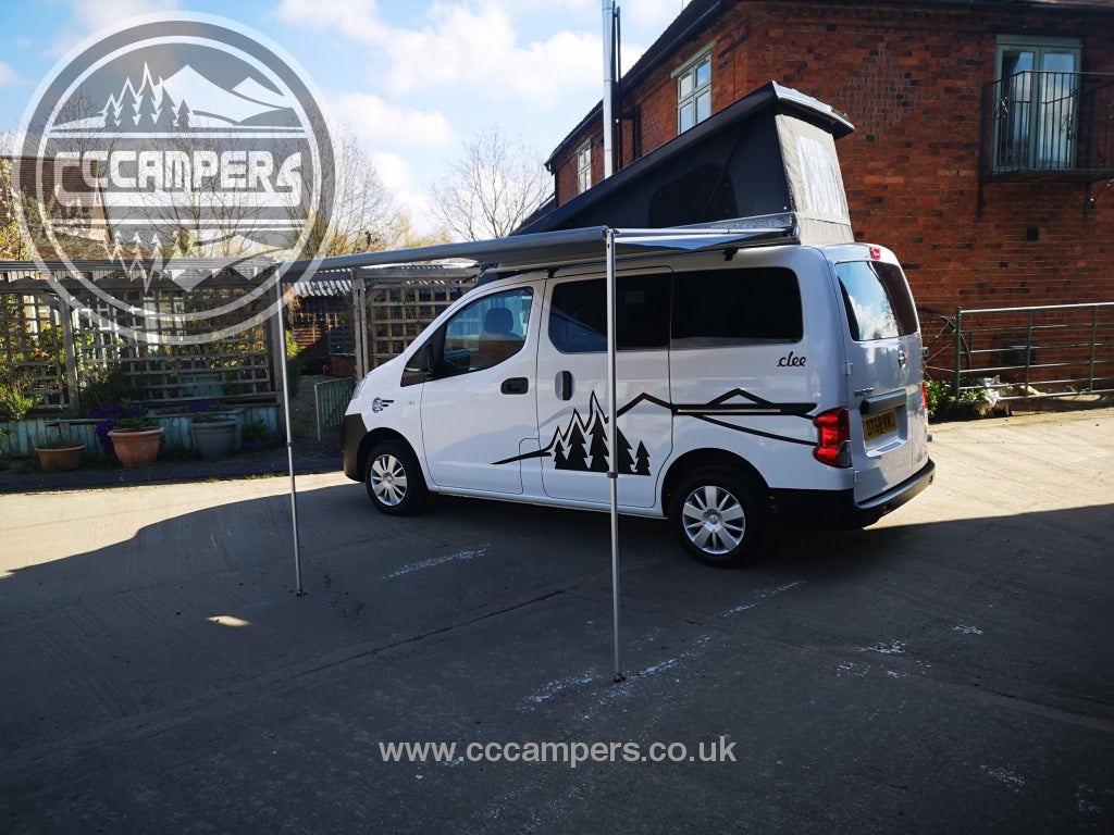 CCCAMPERS - Nissan NV200 Pull Out Awning Kit