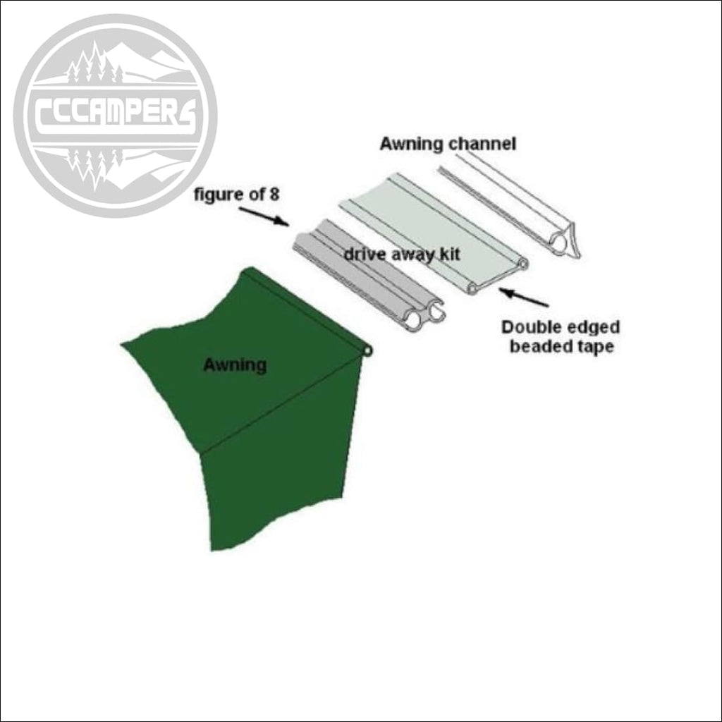 CCCAMPERS - Outdoor Revolution Driveaway Awning Kit Ideal ...