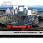 Propex Heatsource Underslung LPG Vapour Tanks Fully Fitted in a CCCAMPERS CONVERSION - cccampers.myshopify.com