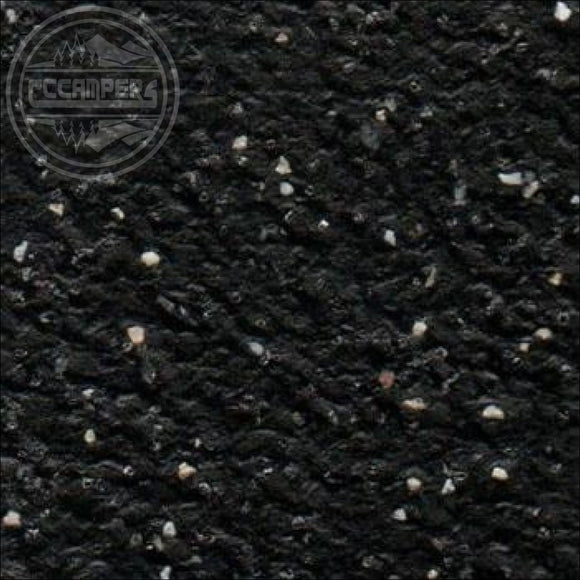 Quasar Black slip-resistant safety Vinyl Flooring Campervan Manufactured in the UK - Carpet Lining