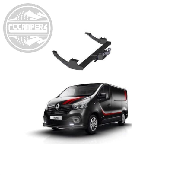 Renault Trafic Factory fitted Tow Bar Towbar option - cccampers.myshopify.com