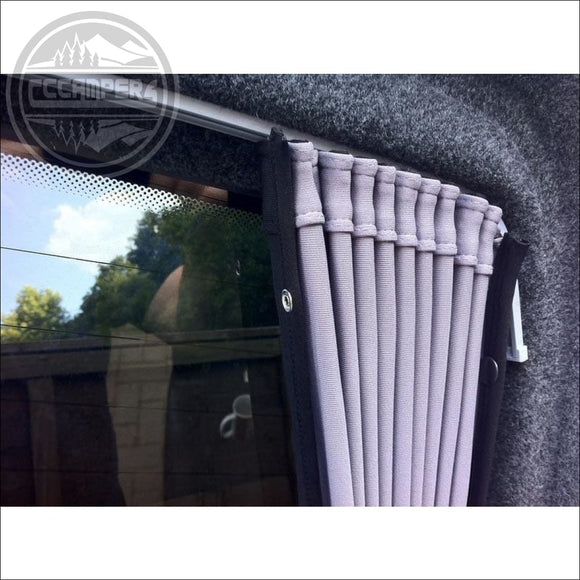 SIDE PREMIUM-LINE CURTAIN - GREY/BLACK - Carpet Lining
