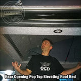 Stargaze Pop Up Elevating Roof Bed & Use Outdoor Mattress - Pop Top Roof & Other Services
