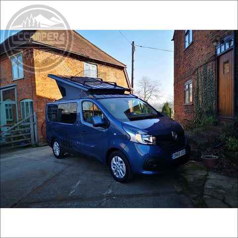 Stargaze Pop Up Elevating Roof for the 2014 onwards RENAULT TRAFIC NISSAN NV300 & FIAT TALENTO VAUXHALL VIVARO (2014 - 2019) - Pop Top Roof