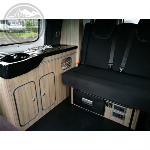 The Bliss Rock 'n' Roll bed for nissan NV200 2009 > Present - CCCAMPERS