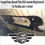 The Bliss Rock n Roll bed for Renault Trafic & Nissan NV300 2014 > Present - Rock & Roll Beds