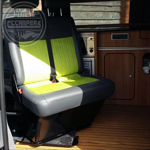 Volkswagen T5 T6 Transporter caravelle double swivel seat base UK made - Double Swivel Seats