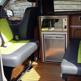 Volkswagen T5 T6 Transporter caravelle double swivel seat base UK made - CCCAMPERS
