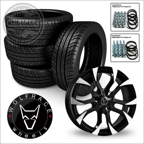 "WOLFRACE ASSASSIN 18"" load rated alloy wheel and tyre package 14> on Renault Trafic, Vauxhall Vivaro, Nissan NV300 & Fiat Talento - cccampers.myshopify.com"